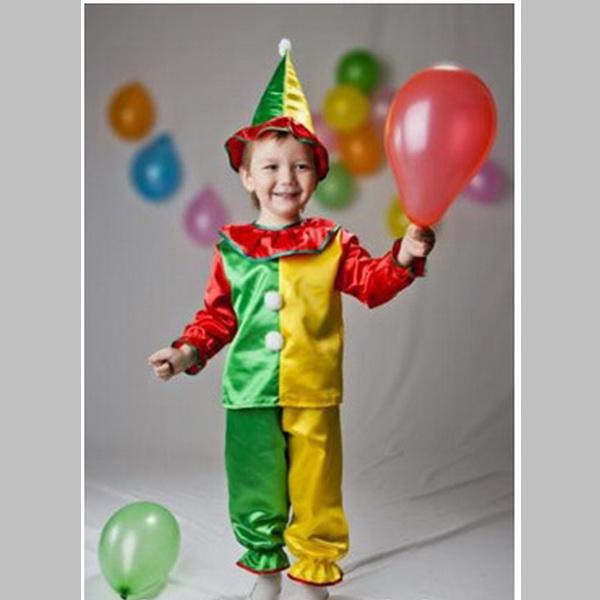 Новогодний костюм для мальчика петрушка своими руками